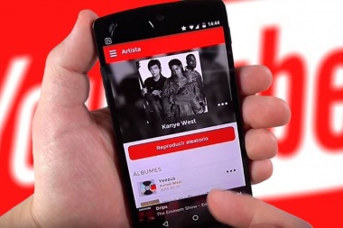 "YouTube lanzará su ""propio Spotify"" con audio y videos"