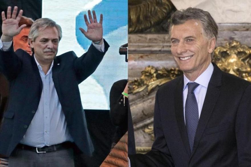 """Resultado de imagen para Macri y Alberto Fernández acordaron tener una línea de diálogo """"abierta y directa"""""""